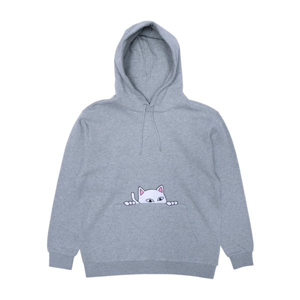 립앤딥 후드  PEEKING NERMAL HOODIE HEATHER GREY  RIP N DIP