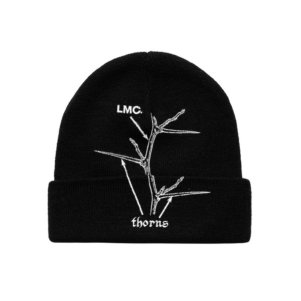 LMC 모자  THORNS GUIDE BEANIE BLACK  엘엠씨