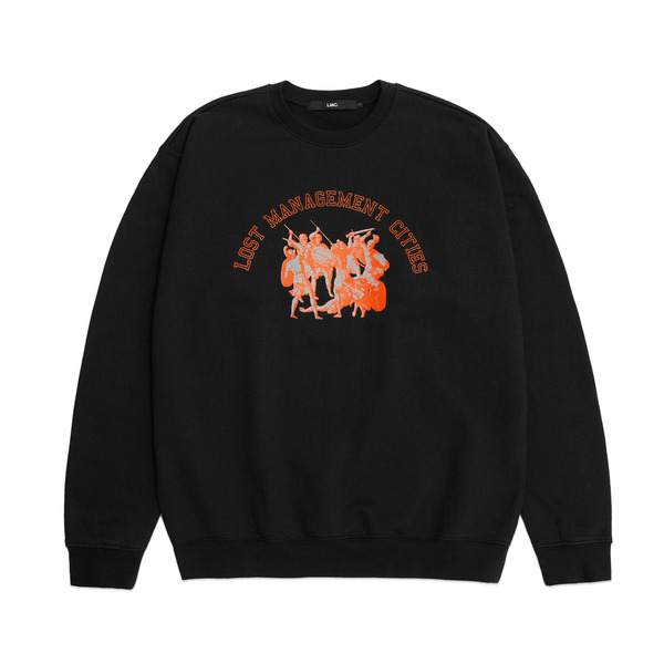 LMC 크루넥  ANCIENT COMBAT SWEATSHIRT BLACK  엘엠씨