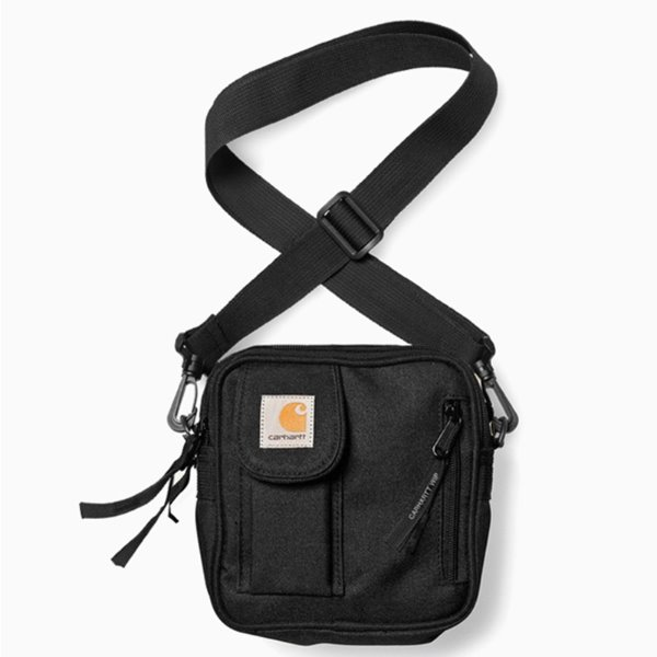 CARHARTT 가방  ESSENTIALS BAG, SMALL BLACK  칼하트