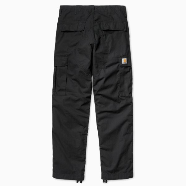 CARHARTT 바지  REGULAR CARGO PANT BLACK RINSED  칼하트