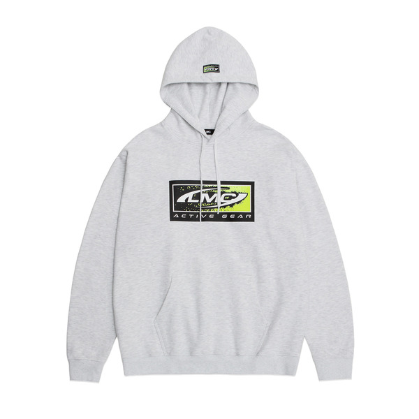 LMC 후드  ACTIVE GEAR HOODIE HEATHER GRAY  엘엠씨