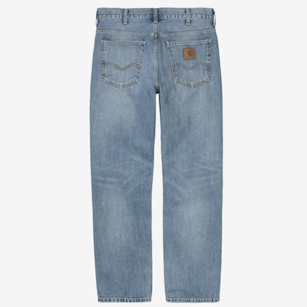 CARHARTT 바지  MARLOW PANT MARLOW PANT EDGEWOOD BLUE WORN BLEACHED  칼하트