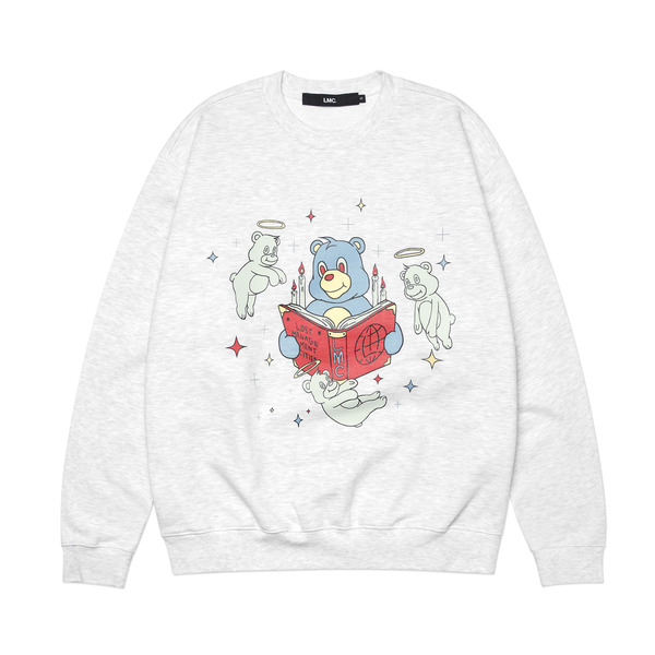 LMC 크루넥  REBIRTH BEAR SWEATSHIRT GRAY  엘엠씨
