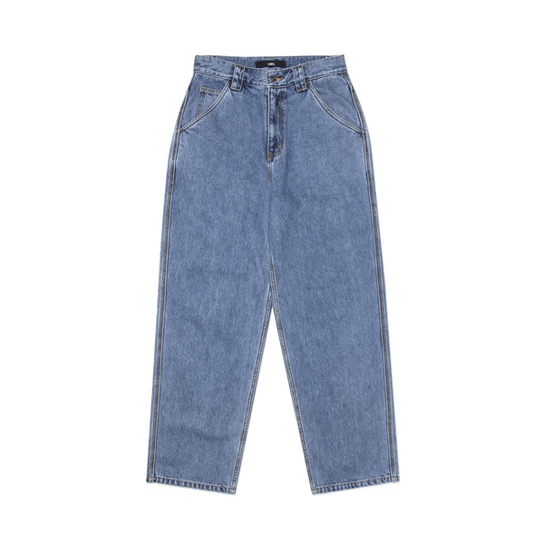 LMC 바지  DIAMOND STITCH DENIM WARK PANTS BLUE  엘엠씨