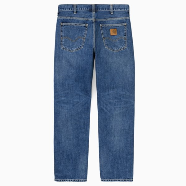 CARHARTT 바지  MARLOW PANT EDGEWOOD BLUE MID WORN WASH  칼하트