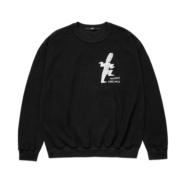 LMC 크루넥  OVERSIZED SWEATSHIRT BLACK  엘엠씨