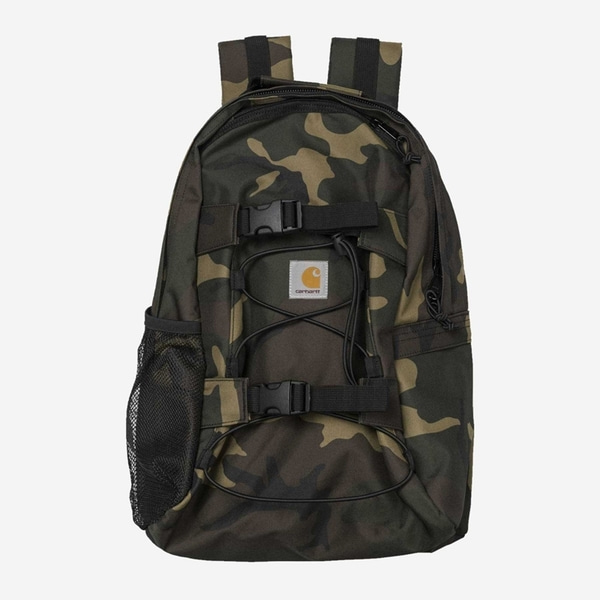 칼하트 백팩  KICKFLIP BACKPACK CAMO LAUREL  CARHARTT WIP