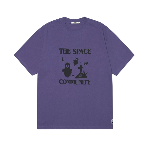 퍼즈 반팔  NOT DEAD BUNNY S/S TEE PURPLE  FUZZ