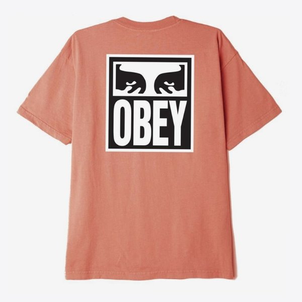 오베이 티셔츠  EYES ICON 2 PHEASANT  OBEY