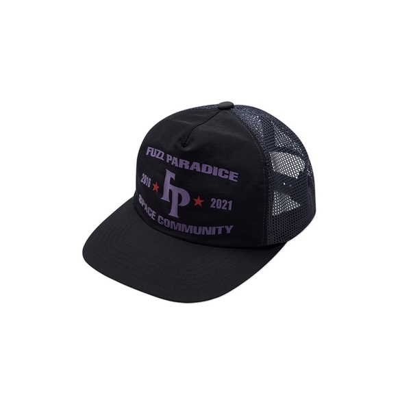 퍼즈 모자   CHAMPION MESH CAP BLACK  FUZZ