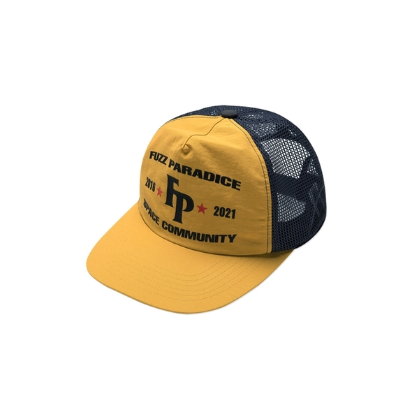 퍼즈 모자   CHAMPION MESH CAP YELLOW  FUZZ